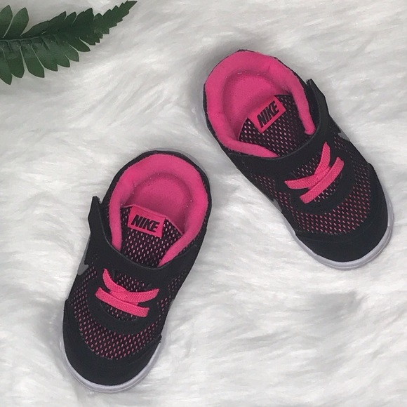 4dff8d8aba Nike Shoes | Toddler Sneakers Pink Black Size 7c | Poshmark